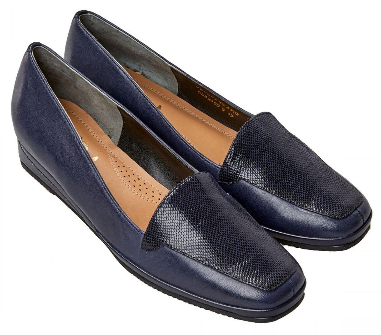 Ladies Casual shoes Van Dal Verona III Midnight   Reptile Print UK Size 6 D Fit