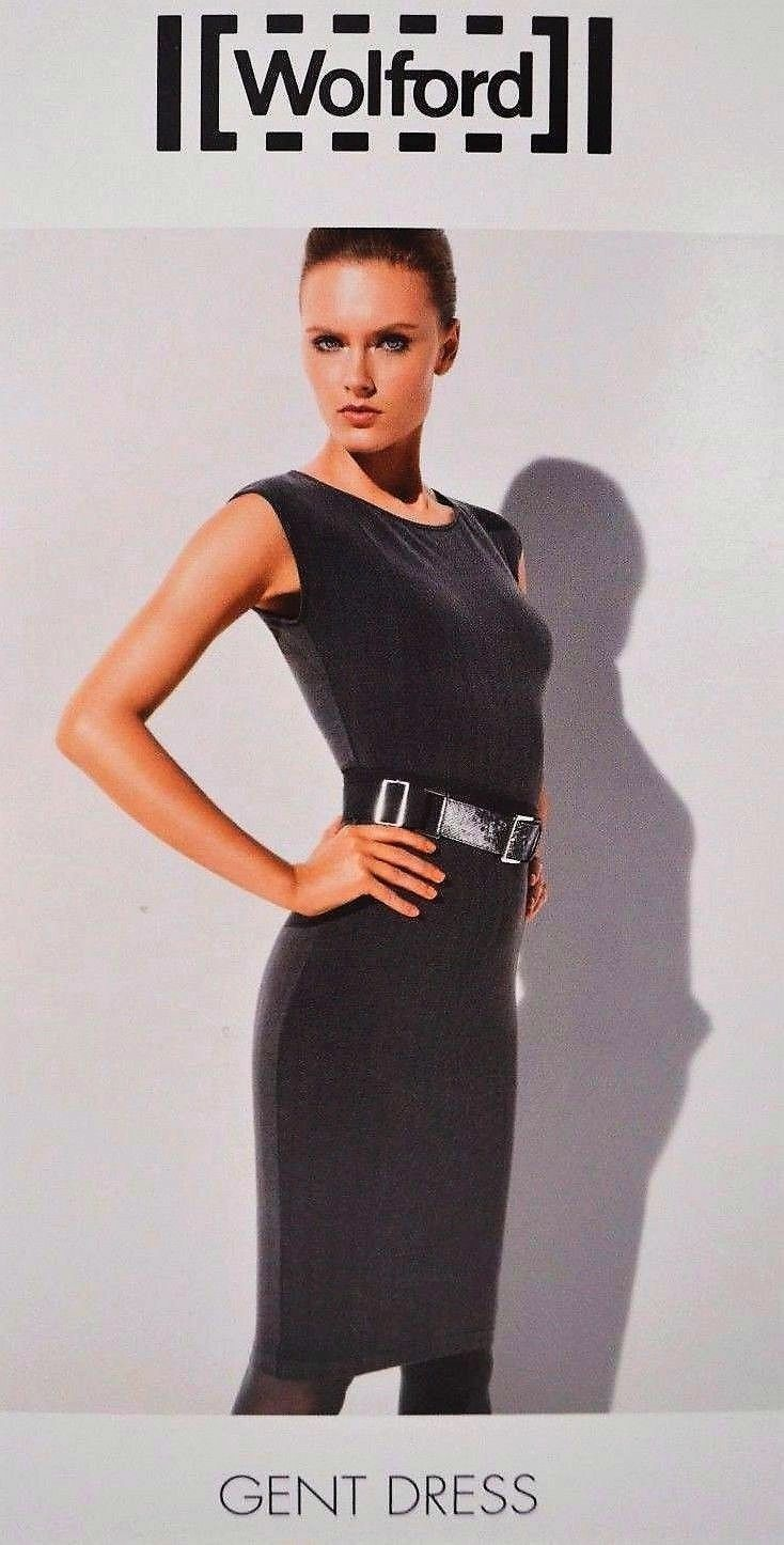 NEW AUTHENTIC WOLFORD GENT DRESS with stretch  GrößeS X Small AND Medium