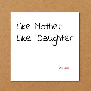 Image Is Loading Funny Birthday Card Mothers Day Daughter Husband Son