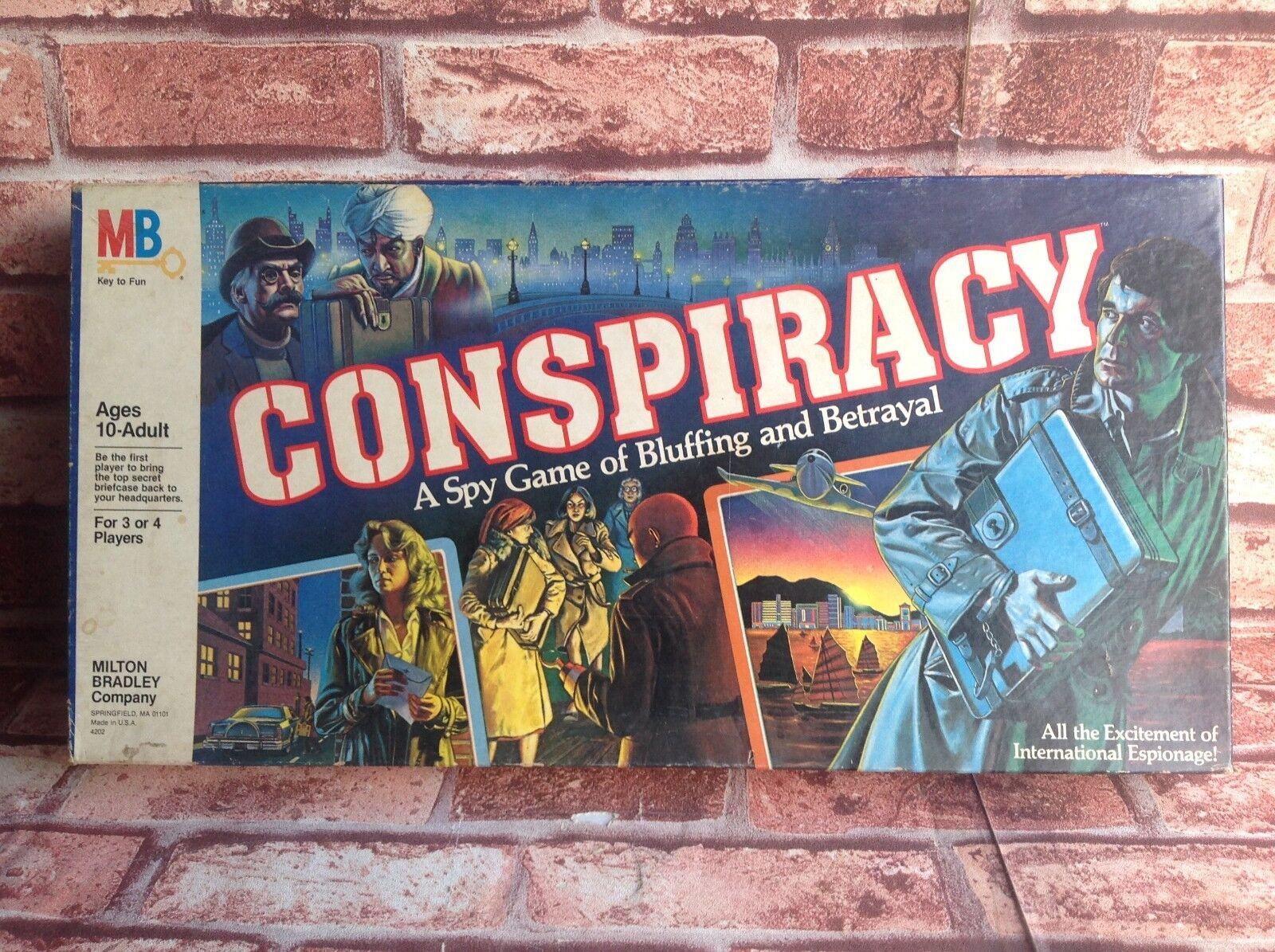 Conspiración-Vintage Juego De Mesa Completo En muy buena condición