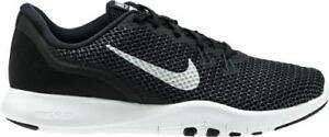 4895279e2d1 Women s NIKE FLEX TR 7 898479 Black+White Athletic Casual Sneakers ...