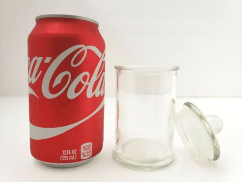 Container Storage Glass Jar /& Lid Candle Making Supplies 5oz Small Bulk Saving