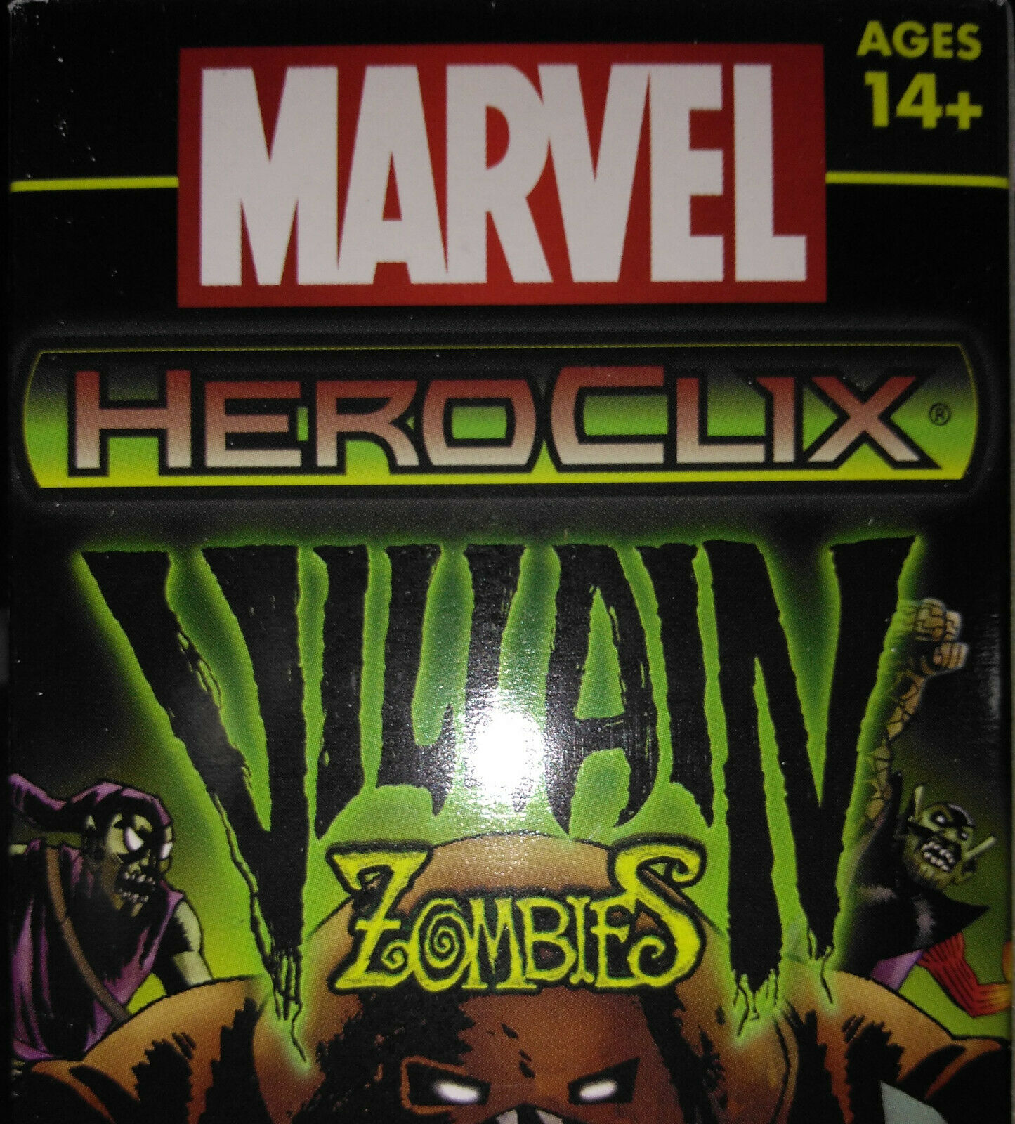 HEROCLIX GUARDIANS OF THE GALAXY Super Skrull 062 Chase (Skrulls, Z-Virus)
