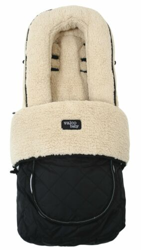 Deluxe Foot Muff for Strollers ~ Fluffy Fleece Universal fit by Valco Baby