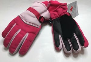 Champion-3M-Thinsulate-Pink-Ski-Gloves-Waterproof-SZ-8-16-Medium