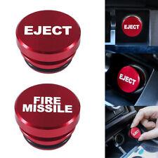 1 Piece Fire Missile Eject Button Cigarette Lighter Cover Plug Car Accessories Fits 2009 Hyundai Santa Fe