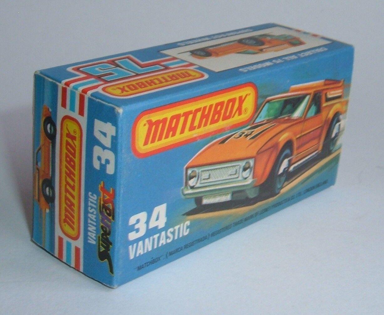 Matchbox Superfast No. 34, Vantastic Vantastic Vantastic 'Sun Label', - Superb VNMint. c2de7e