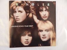 "BANGLES ""WalkIng Down Your Street"" PICTURE SLEEVE! NEW! NICEST COPY ON eBAY!!"