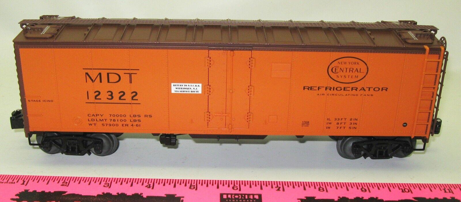 Lionel New 6-17338 Merchants Dispatch Transit steel-sided reefer  12322
