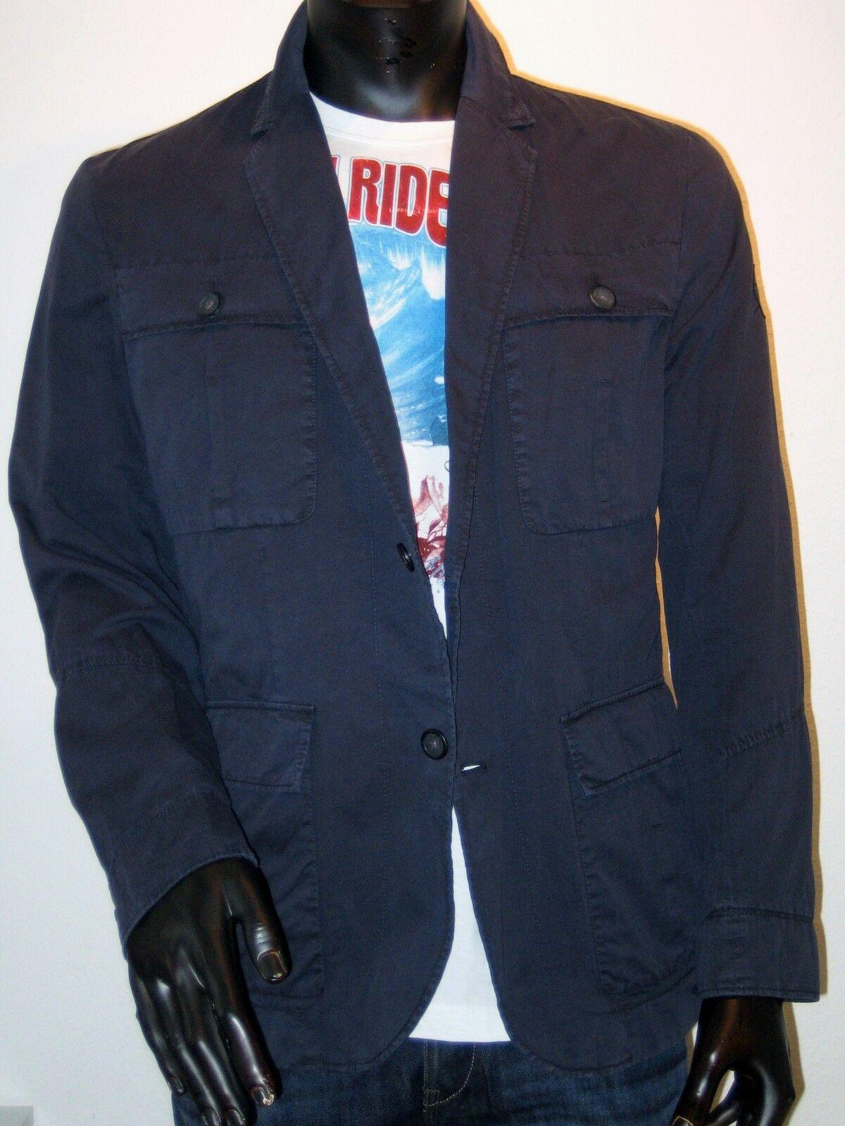 Signum Veste Légère Veste Blazer Sportif Taille L Bleu Neuf Harrison