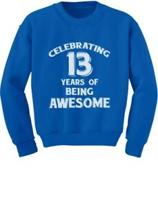 Image Is Loading 13 Years Of Being Awesome Birthday Gift For