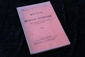 REVUE-de-MEDECINE-VETERINAIRE-Tome-CVI-Nouvelle-Serie-Tome-XVIII-Mai-1955