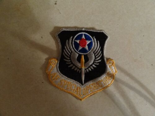 US MILITARY PATCH OLDER SEW ON USAF SPECIAL OPERATIONS