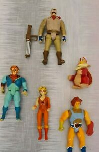 Thundercats-Figures-Lion-o-Snarf-Cheetara-Tygra-Safari-Joe-80s-Toys-Collectables