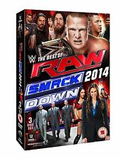 WWE The Best Of Raw And Smackdown 2014 [3 DVDs] *NEU* DVD