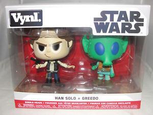 Star Wars Han Solo FUNKO vynl Greedo vinyl figures