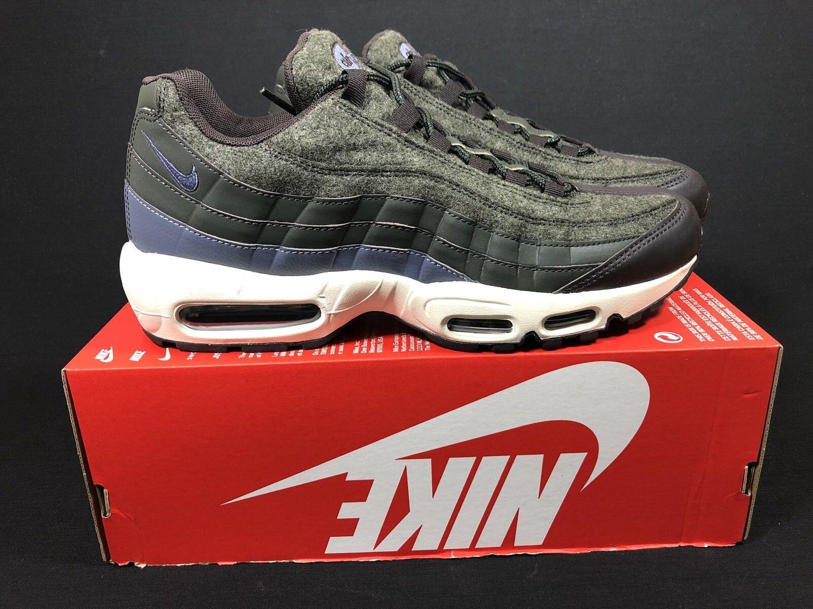 Nike air max 95 sonodiventate sequoia / luce di dimensioni carbonio dimensioni di uk10 / us11 / cm29 / eur45 538416-300 8a0f85