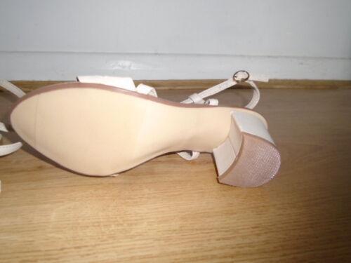 Sandali da beige tacco 2 4 25 misura pollici con tacco basso nuda nuovo chiaro duna rZFrqBc