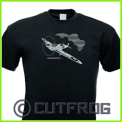 T-Shirt Supermarine Spitfire Flugzeug Airplane Airforce