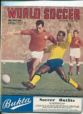 WORLD SOCCER MAGAZINE / OCTOBER 1962 / BRAZIL SOCCER / TORINO FC Disaster