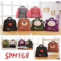 Metoo Plush Toy Doll Animal Backpack Soft Baby Stripe Schoolbag Birthday Gift 1p