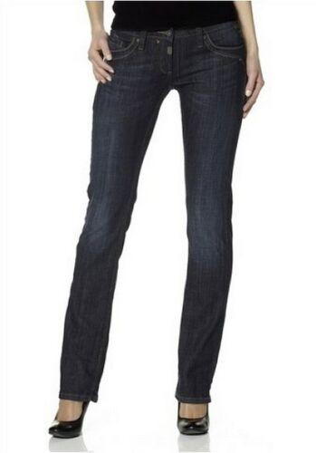 Timezone Tahila Jeans W27-W33 L34 NEU Damen Stretch Blau Used Hose Crease Wash