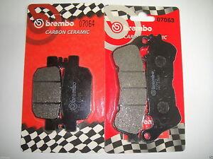 ANT POST XS+XS BRPADS-350 KIT PASTIGLIE FRENO BREMBO HONDA SH I 2007-300CC