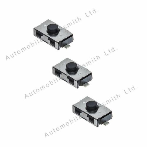 Set of 3 Tactile Micro Switches for Saab 93 95 Aero 4 button Remote Key Repair