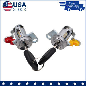 New-DOOR-LOCK-SET-W-KEY-L-amp-R-For-95-04-TOYOTA-TACOMA