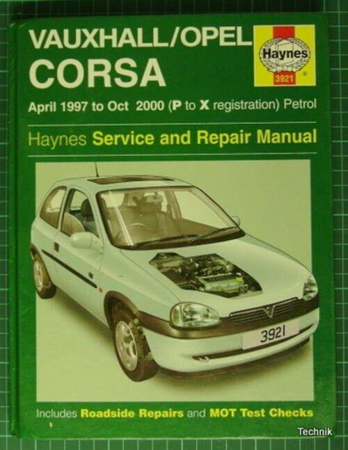 Haynes Opel Corsa B 1997 til 2000