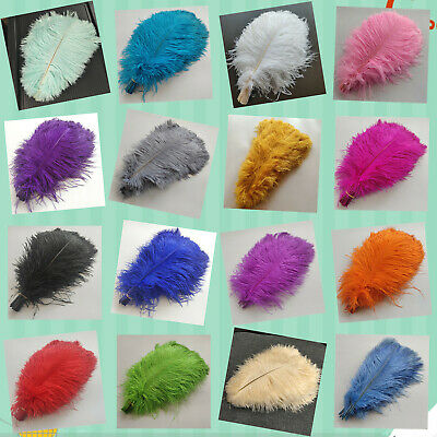Wholesale 10-100pcs high quality beautiful ostrich feathers 6-24inches//15-60cm