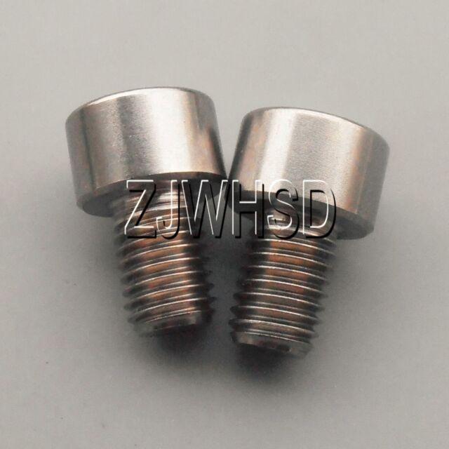 GOLD Titanium brake rotor bolts Grade 5 Aerospace alloy T25 torx drive M5x10mm