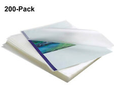 New Listing200pack Clear Thermal Laminating Pouches 9x115 Sheets 3 Mil Letter Size Plastic