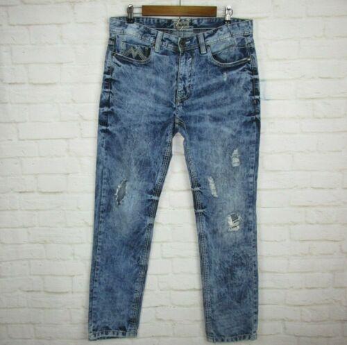 Jeans acide Homme l 32x32 Noire Boucle lavage xvZRqn6wv