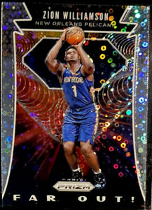 2019-20-Zion-Williamson-RC-Prizm-Fast-Break-Far-Out-Silver-DISCO-REFRACTOR