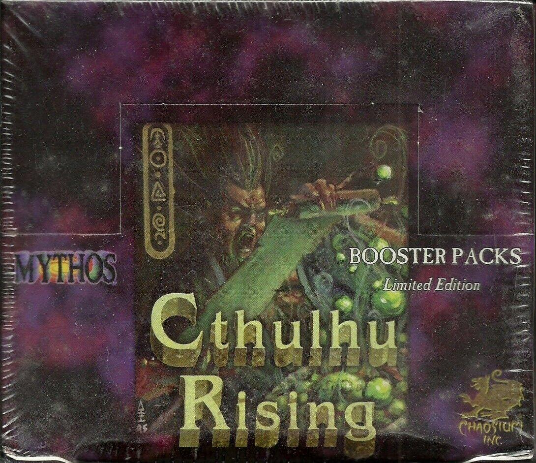 Mythos ccg - cthulhu steigt - display