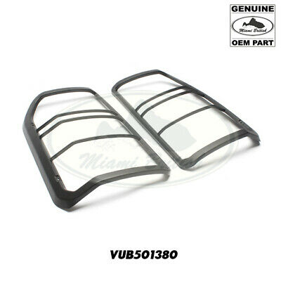 Rear light lamp guard kit for Land Rover Discovery 3 4 LR3 black plastic NEW