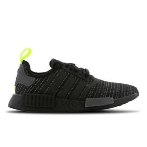 dirt cheap unique design quality design Details about Mens ADIDAS NMD R1 Black Running Trainers F36739