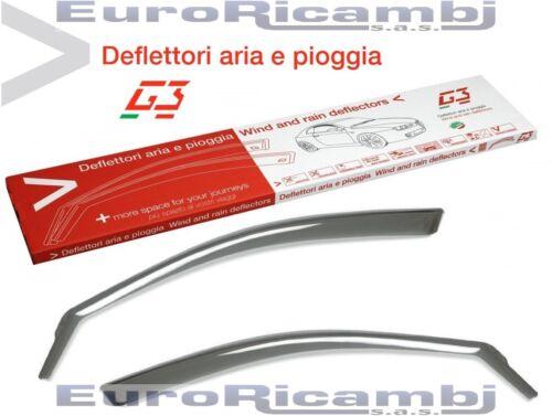 DEFLETTORI ARIA G3 FIAT PUNTO 1999/>2010 3 PORTE ANTITURBO ANTIVENTO