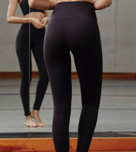 NEW Free People Movement Barely There Legging in Washed Black Sz XS//S-M//L $91.12