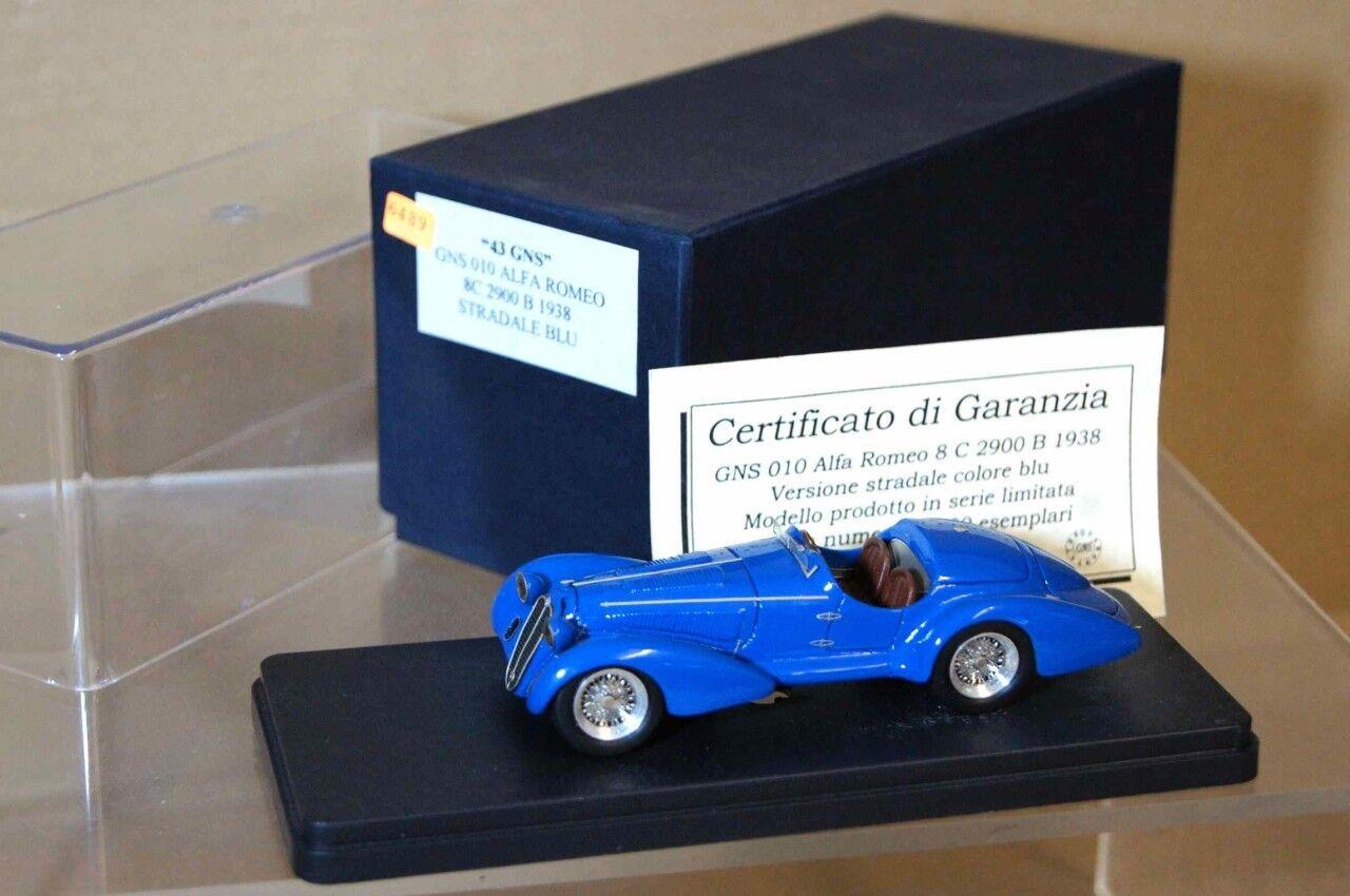 43 Gns 010 Modello 1938 Alfa Romeo 8C 2900B Cabriolet Ar