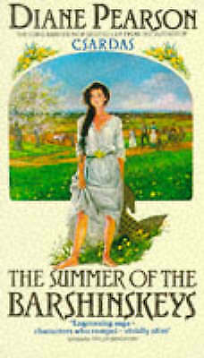 """""""AS NEW"""" The Summer of the Barshinskeys, Pearson, Diane, Book"""