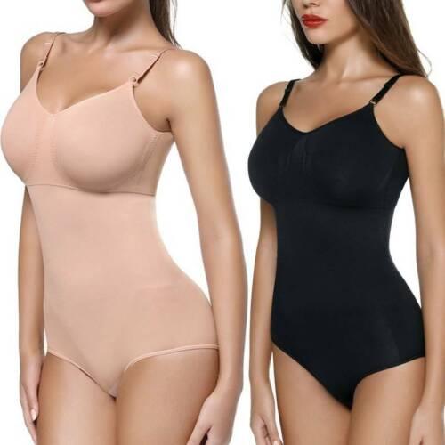 WOMEN/'S SEAMLESS FULL BODY SHAPER BUTT LIFT FIRM TUMMY CONTROL SHAPING BODYSUIT
