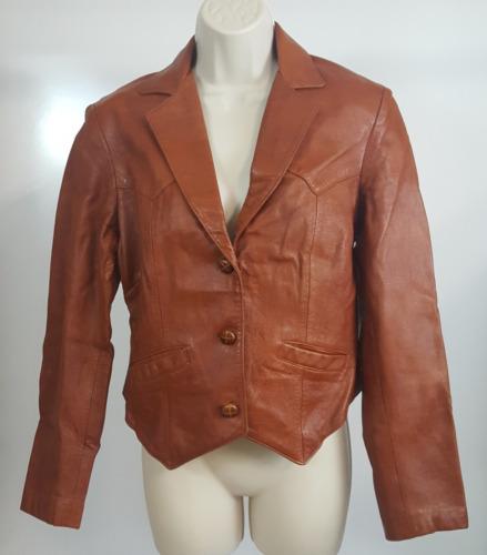 Tregos Westwear Womens Vintage Chestnut Brown Butt
