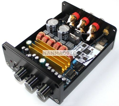 Mini TPA3116 2.1 Bluetooth CSR4.0 Digital Amplifier Board 2*50W+100W Class D AMP
