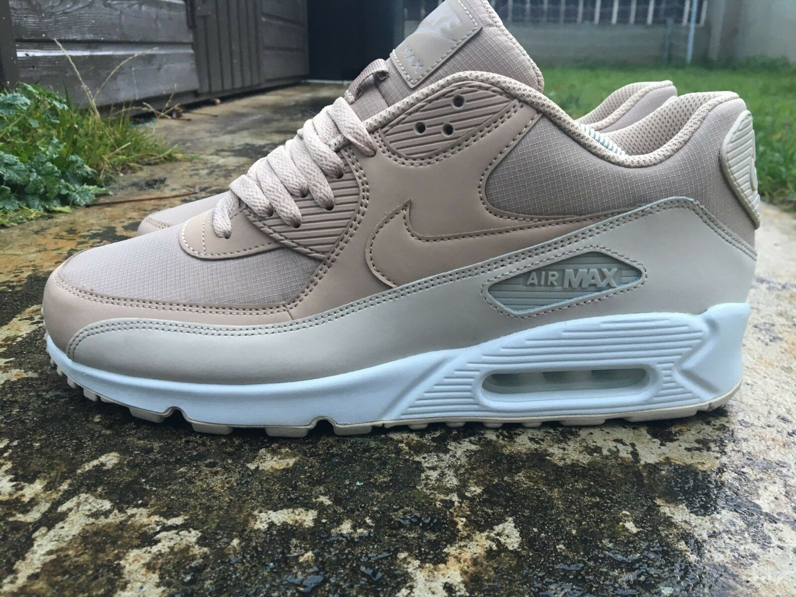 Nike Air Größe Max 90 Größe Air 8.5 UK Essential EU 43 Trainers Men Desert Sand 537384-087 5ca26b