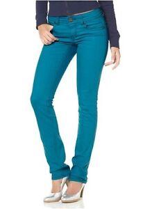 Details zu Arizona Jeans K Gr.17 21 (34 42) NEU Slim Fit Damen Denim Hose Röhre Stretch L30