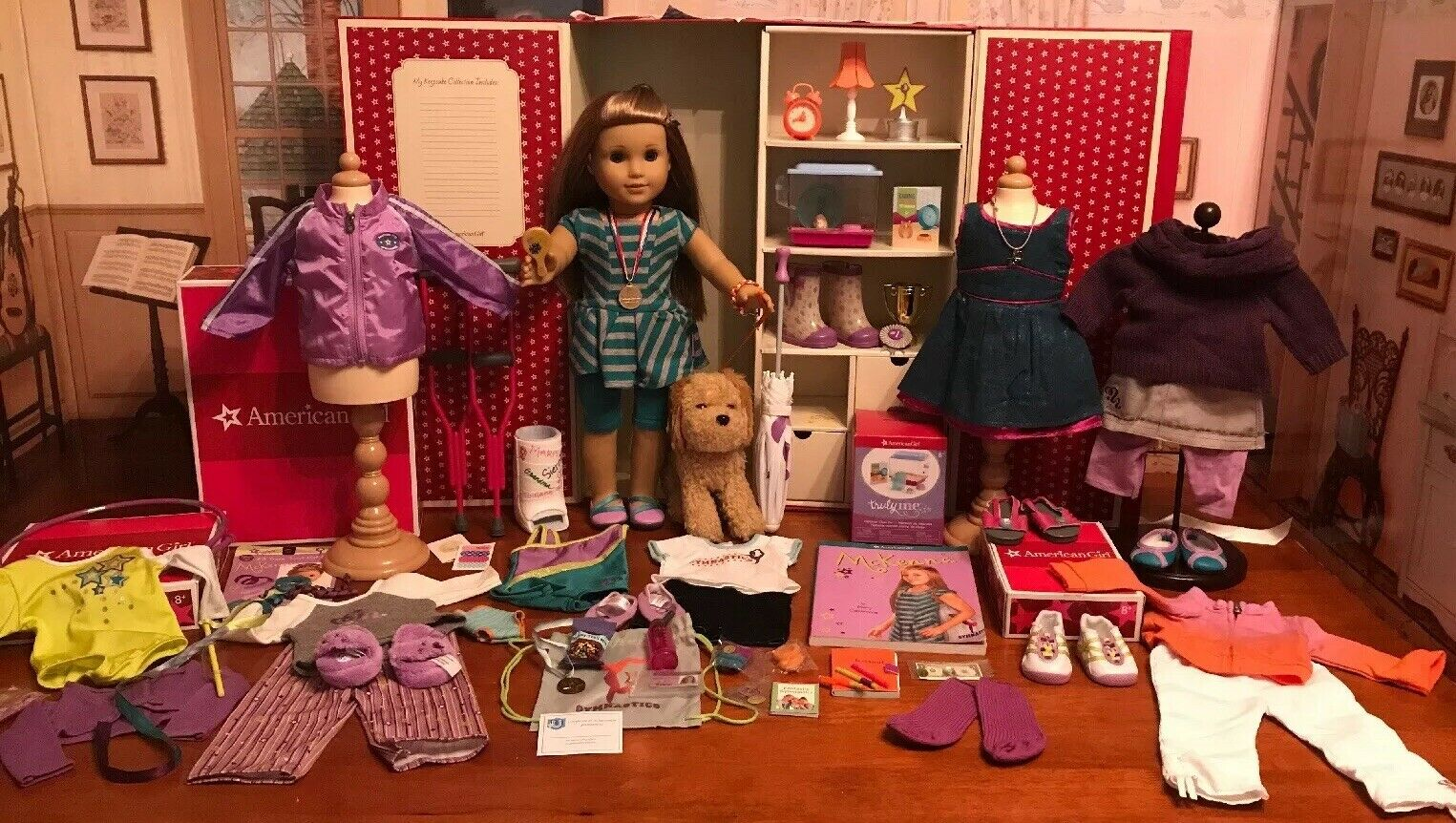 American Girl Doll Of The Year 2012 Mckenna Brooks Collection-Retirot