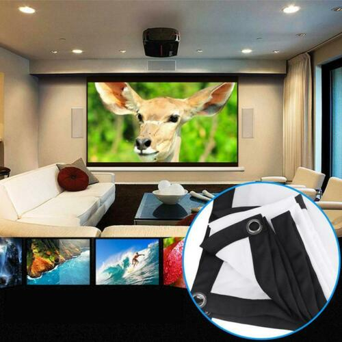 Projection Screen For HD Projector Home Theater Cinema Movies Party Q