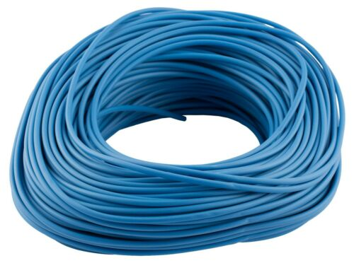 Electrical PVC Earth Blue Brown Sleeving 2mm 3mm 4mm 5mm /& 6mm Tubing Wire Cable